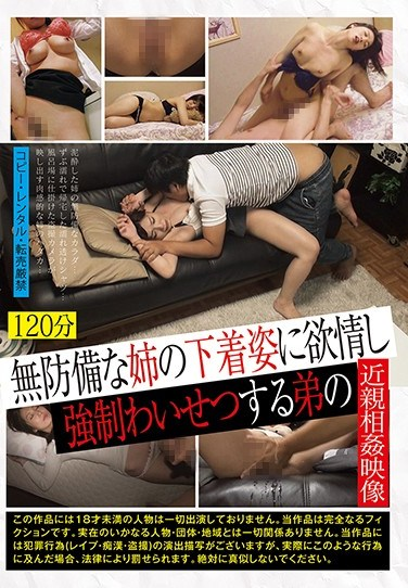 TUE-073 Incest Images Of Incompetent Indecent Brother's Desire To Be Vulnerable To Defenseless Sister's Underwear Appearance