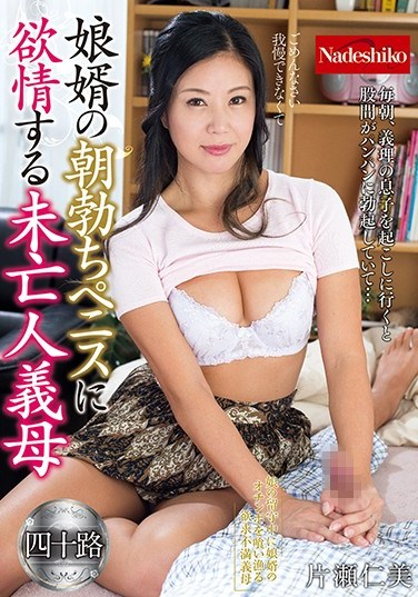 [NATR-578] A Stepmom Widow Who Lusts For Her Son-In-Law's Morning Hard On Hitomi Katase