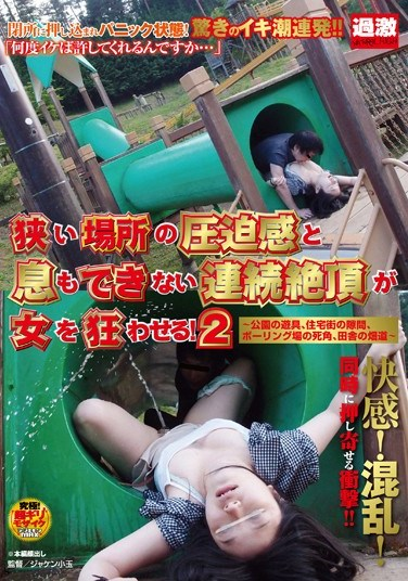 [NHDTA-295] Women Driven Crazy By Sex in Small Spaces! 2 – Playground Equipment At The Park Neighborhood Alleyways Blind Spot At The Bowling Alley Country Road –