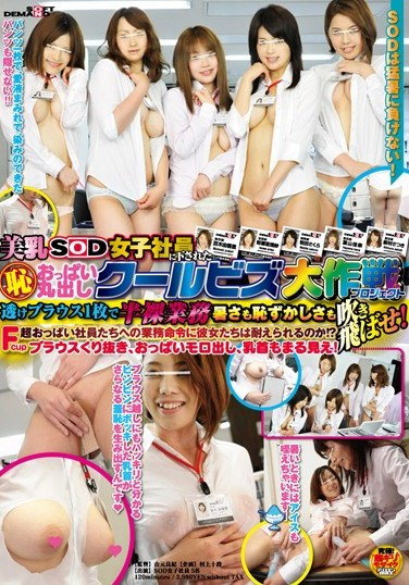 SDMT-511 SOD Female Employees Was Sent Down To Bare Breasts Breasts Cool Biz Daisakusen (shame) (project)