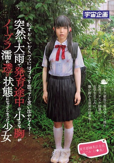 [MDTM-054] It's Embarrassing, I Can't Ask My Mom To Buy Me A Bra… A Sudden Rainstorm Soaks A Growing Young Barely Legal Girl's Shirt And Exposes Her Braless Tits Nagomi, Resident Of Nerima Ward In Tokyo (1* Years Old)