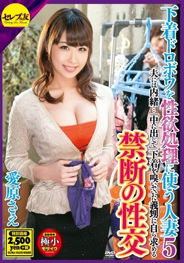 [CEAD-145] A Married Woman Uses An Underwear Thief To Satisfy Her Sexual Urges 5 Sae Aihara