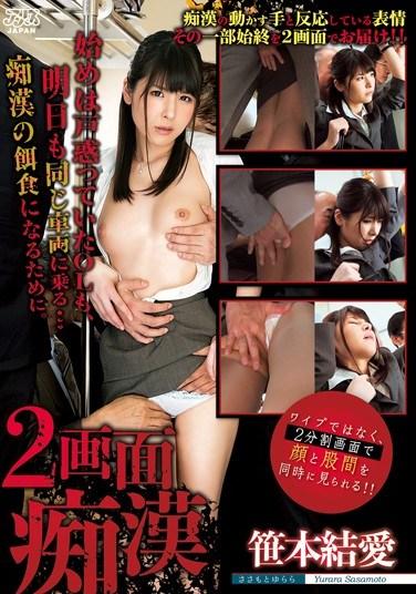 DVAJ-154 2 Screen Molester Sasamoto Yuiai