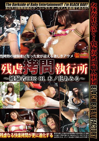 [DXYB-009] Brutal Torture Chamber Subject 003 Office Lady Amiru Konohana