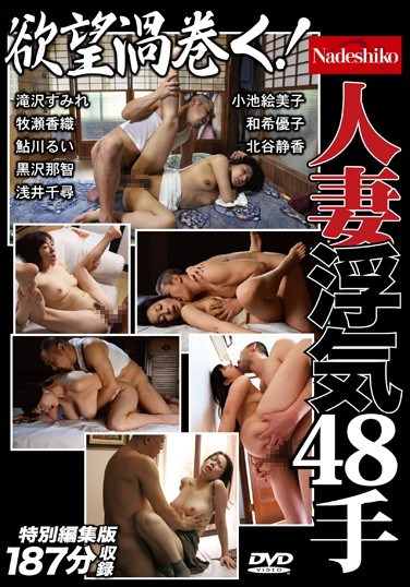 [NASS-177] Swirling Lust! 48 Faithless Wives