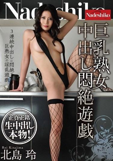 [NATR-460] Creampie Fun For A Busty Moaning MILF Rei Kitajima
