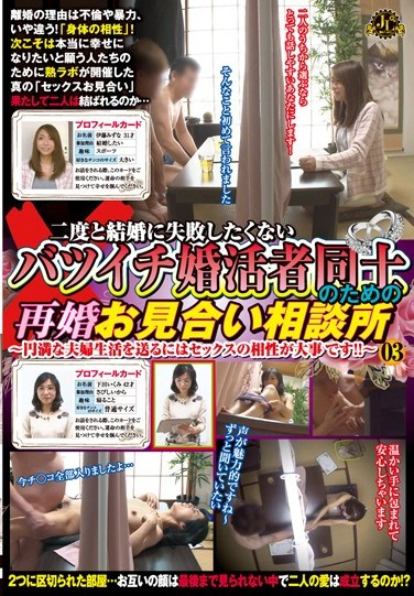 [MEKO-18] An Arranged Re-Marriage Consultation Office For Divorcees That Don't Want Their Second Marriage To Fail – For A Harmonious Marriage, Sexual Compatibility Is Essential! – 03
