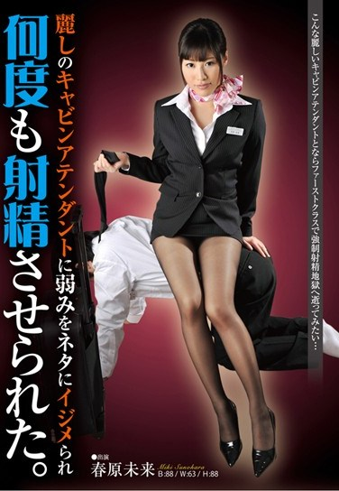 [NFDM-287] I Tricked a Gorgeous Flight Attendant and I Came in her Multiple Times. Miki Sunohara