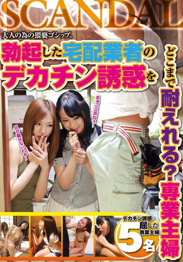 [CAND-123] Can You Really Resist The Temptation of the Big-Dicked Delivery Man? Housewife