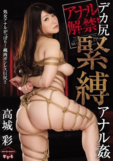 [VICD-370] Anal OK! Huge Ass S&M Anal Rape – Aya Takagi