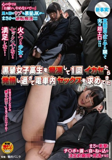 [NHDTA-790] I Made A Black-haired School Girl Cum And Now She Wants To Have Sex In The Subway Car