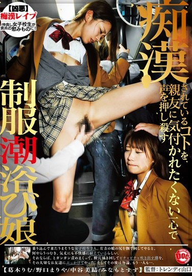TLS-017 I Didn't Want My Friend To Know What The Molester Was Doing To Me. I Muffled My Screams The Best I Could. Girl In Uniform Seizes An Opportunity