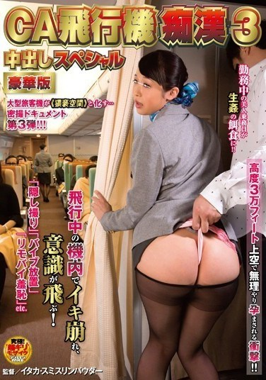 NHDTA-776 Molesting Cabin Attendants On The Plane 3 Deluxe Edition Creampie Special