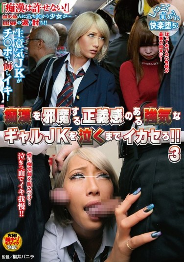 NHDTA-838 We Make Headstrong Schoolgirls Who Think They Can Stop Molesters Cum 'Till They Cry! 3