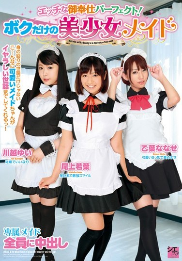 SMS-009 Perfect Dirty Servant! My Very Own Beautiful Girl Maid