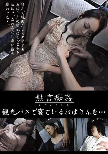 DMAT-098 Silent Molester Feeling Up Sleeping MILFs On A Tour Bus…