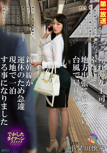 MOND-050 My Beautiful Superior And I Encountered An Enormous Typhoon And We Had To Stay The Night Somewhere… Reiko Kobayakawa