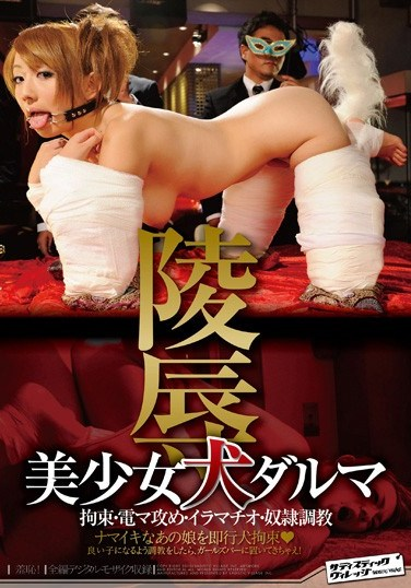 SVDVD-196 Beautiful Girl Turned Into A Doggie Fuck Doll Leon Otowa