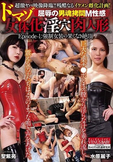DBVB-001 Maso Sensual Male Torture Of Shame A Maso Female Sex Doll Transformation Episode-1: Endless Ecstasy After Being Forced To Cross Dress
