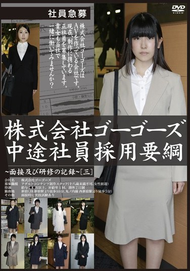 BTA-005 A Gogos Inc. Hiring Story A Record Of The Hiring Interview And Training [3]