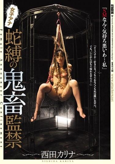 JBD-219 Rough Sex Confinement With A Female Anchor Karina Nishida