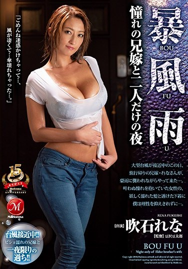 JUY-644 A Rainy Windstorm I Spent The Night With My Hot Sister-In-Law Lena Fukiishi