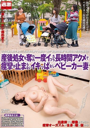 NHDTB-215 A Married Woman With A Stroller Who Hasn't Had Sex Since Giving Birth Can't Stop Trembling And Orgasming