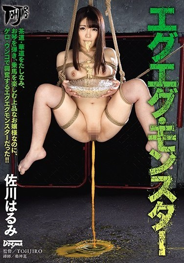 DDT-613 Nasty Nasty Monster Harumi Sagawa