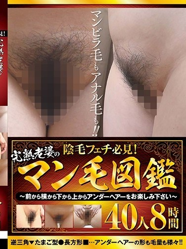 DINM-485 A Must-See For Pubic Hair Fetishists! The Enclyclopedia Of Old Women's Pubes ~Enjoy Their Pubes From The Front, Side And Below~