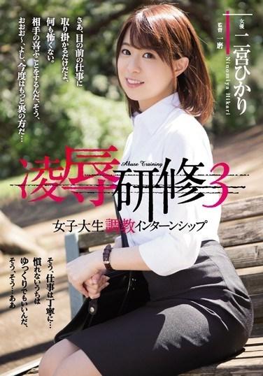 RBD-933 Torture Training 3, College Girl Breaking Internship, Hikari Ninomiya
