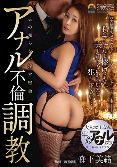 SOAN-041 Anal Adultery Breaking In Training Mio Morishita