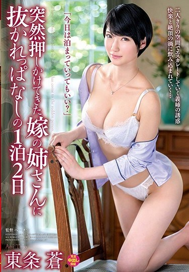 VENU-883 My Wife's Big Sister Suddenly Dropped In And For The Next 2 Days And A Night I Got Pumped For All The Cum In My Balls Aoi Tojo