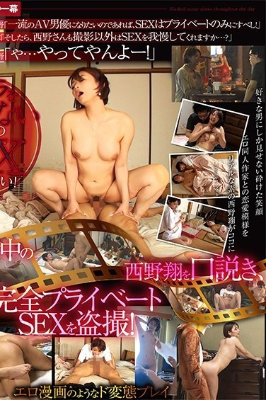 STARS-144 Sho Nishino's Private Life – Her First Voyeur Video! – We've Heard Rumors About Her Wild Sex Life, But The Truth Is Hard To Believe! – She Spends All Day Having Kinky Sex With A Middle-Aged Dork!