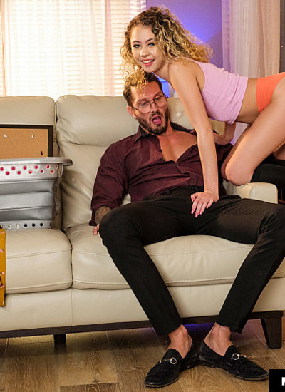My Daughter's Hot Friend – Allie Addison – Allie Addison loves to ride big daddy cock