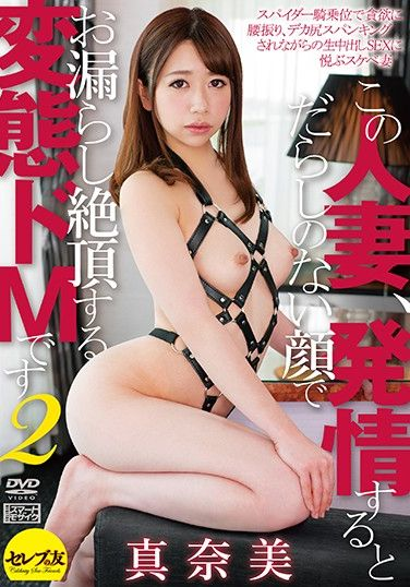 CESD-870 When This Married Woman Gets Turned On, She Transforms Into A Sex-Crazy Squirting Pervert 2 – Manami