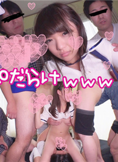 FC2 PPV 1291049 Geki Kawa uniform beautiful girl and orgy Perverts gather and semen group bukkake Cute face is covered with sperm ww