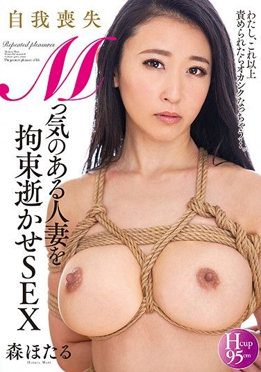 NACR-335 Masochist Married Woman Tied Up In Ecstasy Fuck, Hotaru Mori