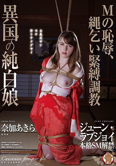 HMPD-10061 Exotic Foreign White Girl – The Shame Of A Masochist, Rope Bondage Breaking In June Lovejoy